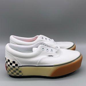 Vans Era Stacked 'White Checkerboard'